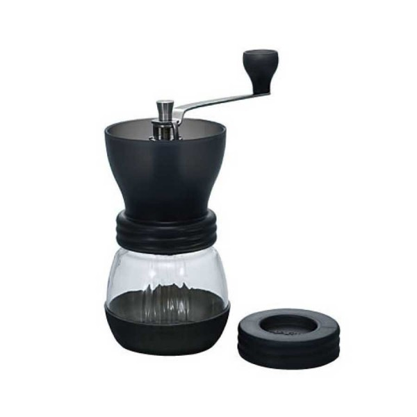 grinding coffee – hario manual grinder