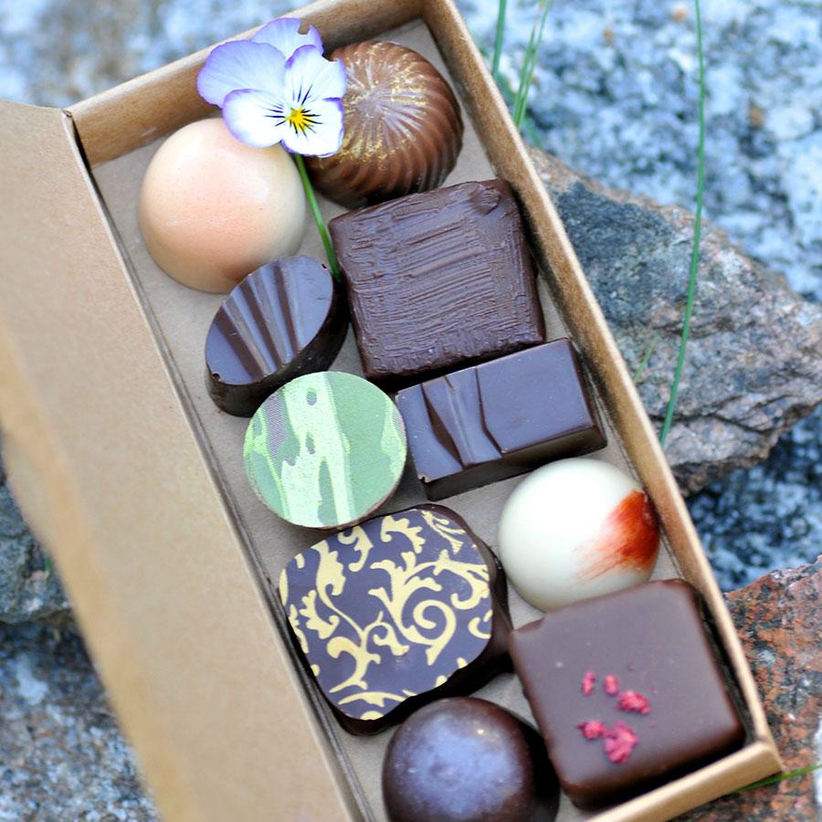 Pralina Kraft Chocolate Box – high quality hand-made chocolate ...
