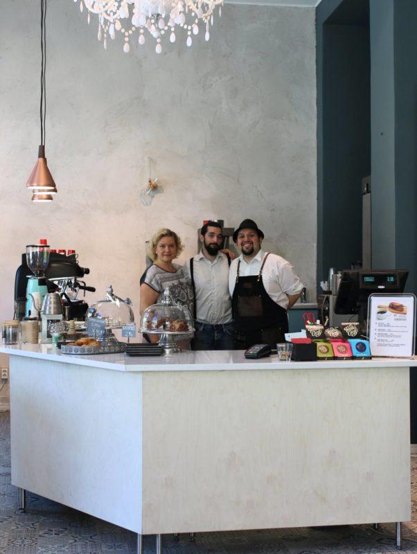 Cafetoria Roastery Cafe team