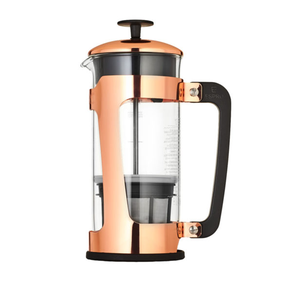 ESPRO-P5-Coffee-Press-Glass-Carafe-and-and-Copper-Plated-Stainess-Steel-Cage