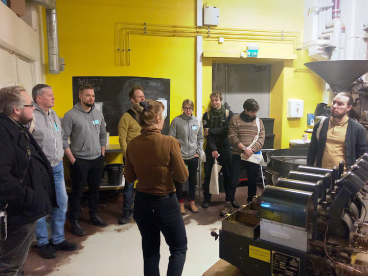 This year's first Roastery Days event at Kaffa Roastery