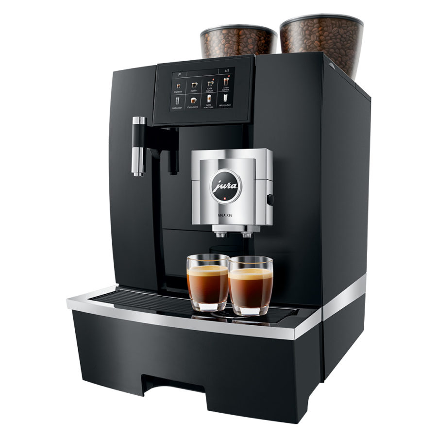 Jura GIGA X8c G2 Black Aluminum Professional coffee machine 1