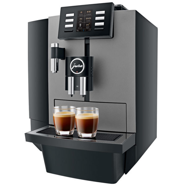 Jura X6 Dark Inox automatic coffee machine 2