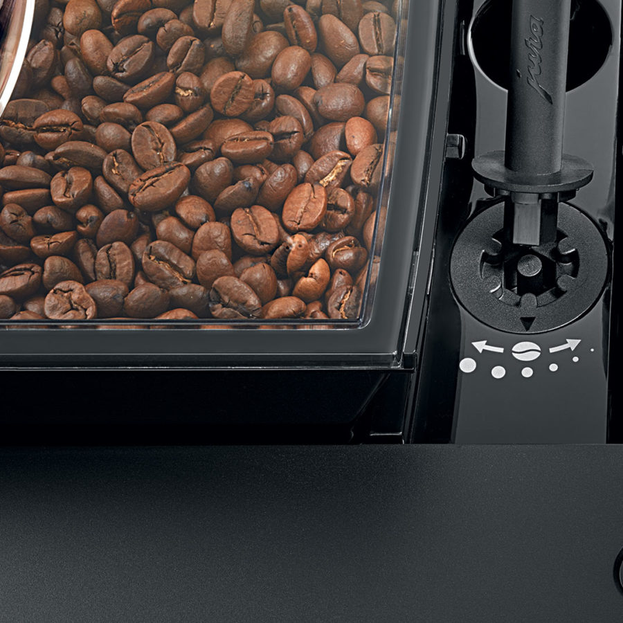 Jura X6 Dark Inox automatic coffee machine 5