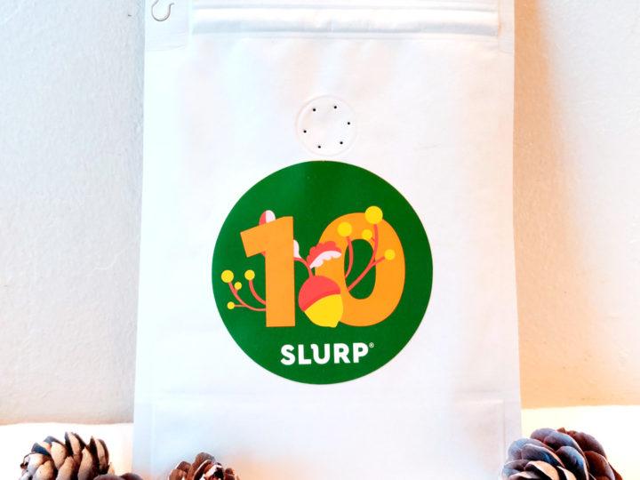 Slurp Christmas Calendar #10<br />Holmen Coffee: Holmen HoHoHo