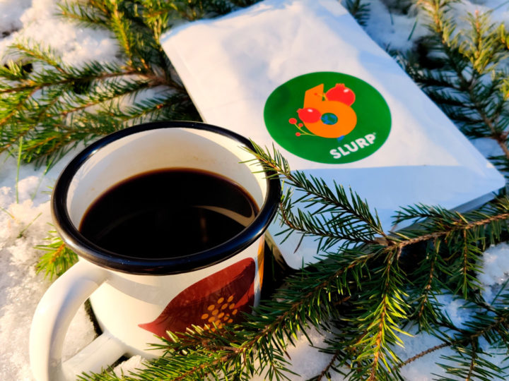 Slurp Christmas calendar #6<br />Record Coffee Company: Inga Aponte