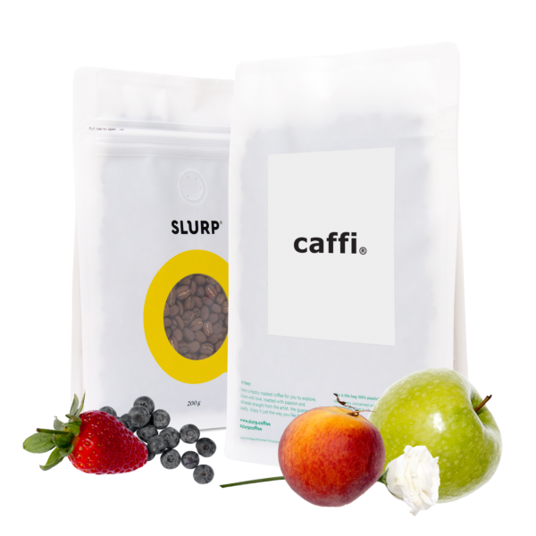 SLURP-Caffi-Fruity and sweet