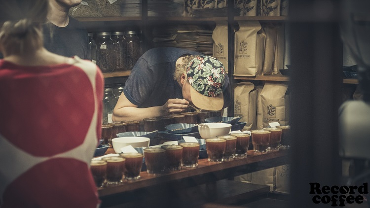 Record Coffee Company Jesse Cupping