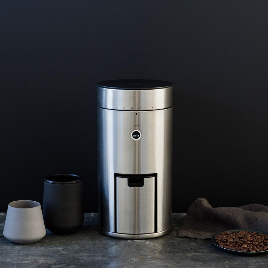 SLURP-Wilfa-SVART-Uniform-WSFB-100S-Coffee-Grinder-In-Kitchen