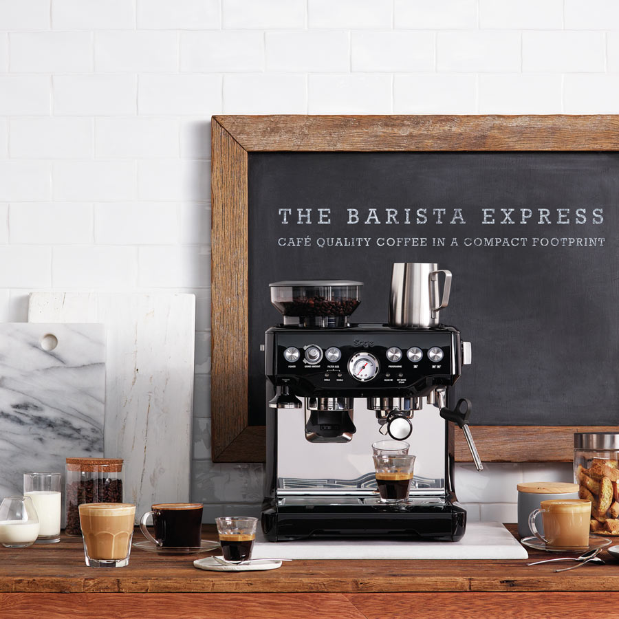 SLURP-Sage-the-Barista-Express-Espresso-Coffee-Maker-Black-Truffle-Lifestyle