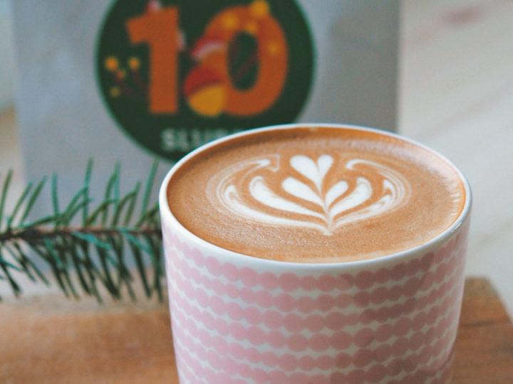 Joulukalenterikahvi #10 – Christmas calendar coffee #10