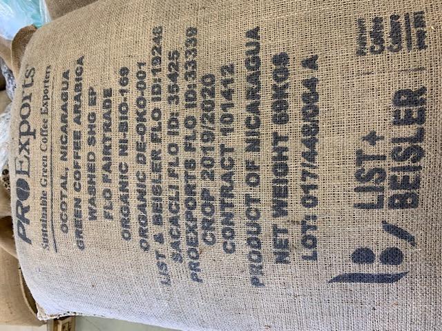 #165 Paahtimo Papu: Nicaragua, Organic & Fairtrade